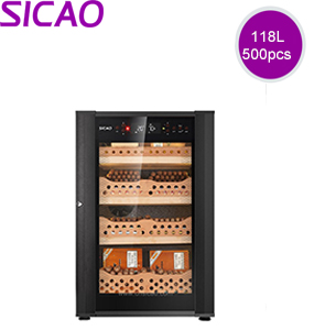 Professional cigar humidity cabinet cooler SC500
